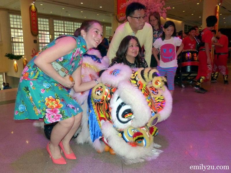 Syeun Hotel Ipoh Chinese New Year celebration