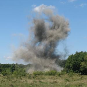 Asanare munitie neexplodata - 2011
