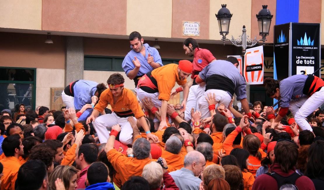Decennals de la Candela, Valls 30-01-11 - 20110130_172_4d7_Eix_Valls_Decennals_Candela.jpg