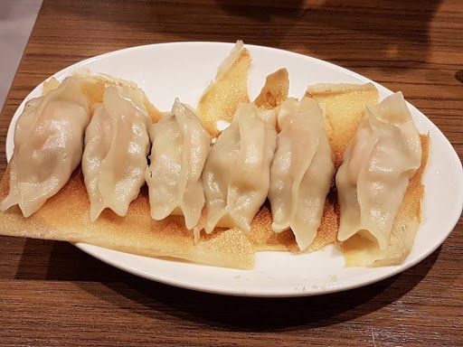 Potstickers from Din Tai Fung at Kaohsiung