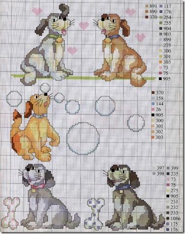 perros punto de cruz (6)