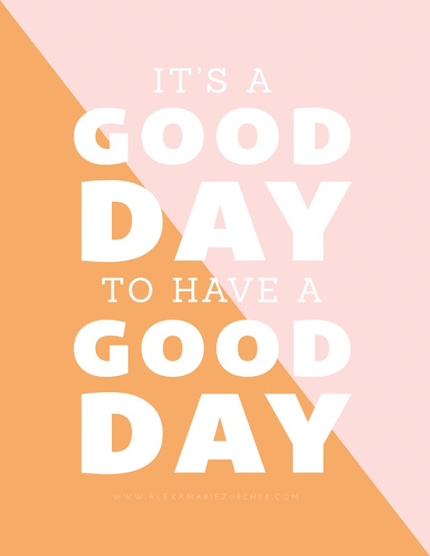 Good Day free printable and how to pair fonts