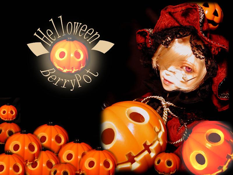 Helloween Berry Pot, Halloween