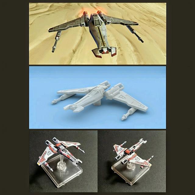Liberator Starfighter de Mel Miniatures