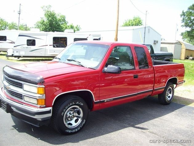 1998 Chevrolet CK 1500 Series Extended Cab Specifications