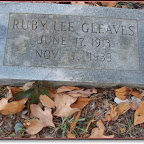 Ruth Lee Gleaves - Daughter of Herschel Gleaves