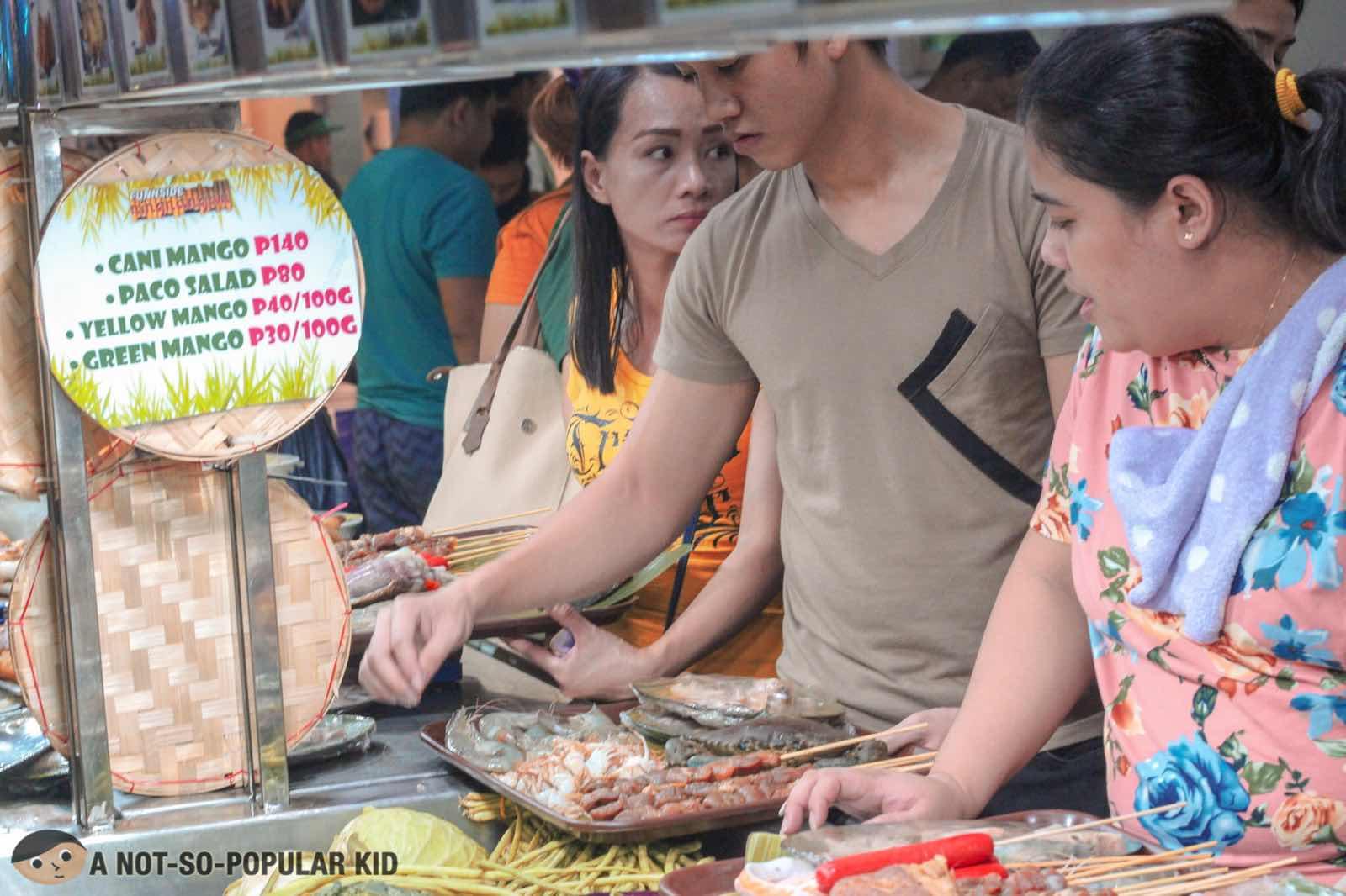 Seafood paluto in Funnside Ningnangan, Marilao