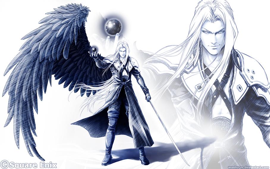 Team Building]One-Winged Angel, Sephiroth | Puzzle & Dragons forum One Winged Angel Sephiroth