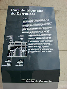 Here's all the info about the Arc de triomphe du Carrousel.  You just need to be able to read French.
