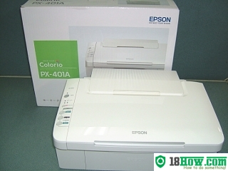 How to Reset Epson PX-401A printing device – Reset flashing lights error