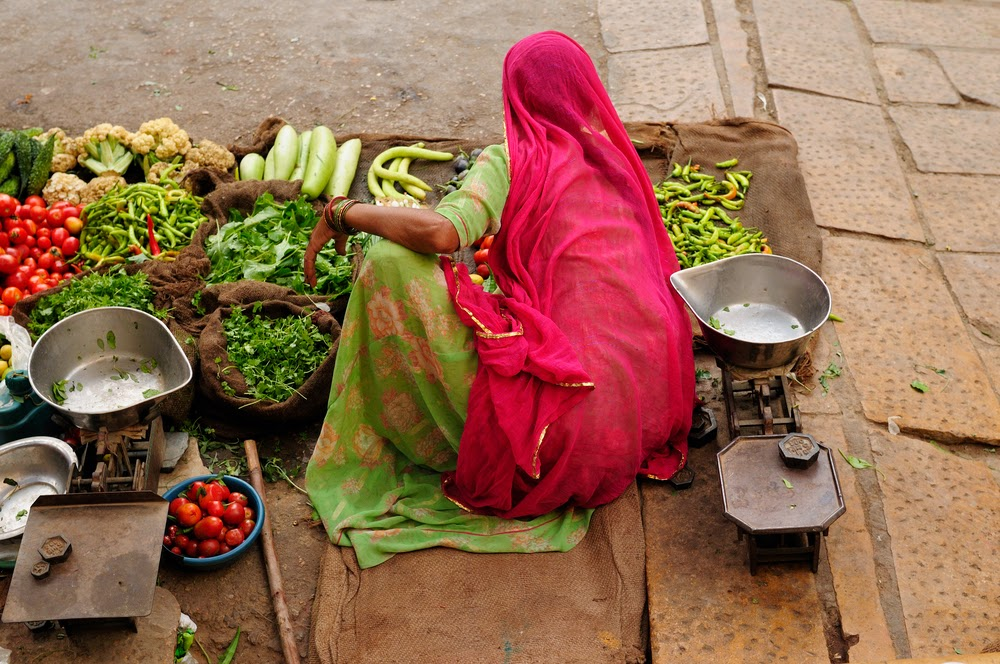 Streek Market in India