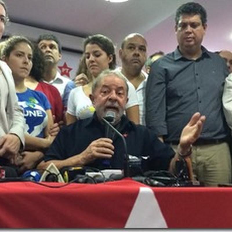 Dois cenários possíveis: ou acabam com o Lula, ou o fortalecem ainda mais para 2018