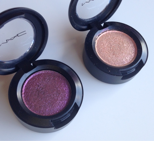 a limited edition pressed pigment that adds glitter