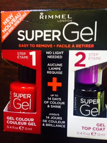 RimmeL introduces new Super GeL- for Salon Style nails at home!