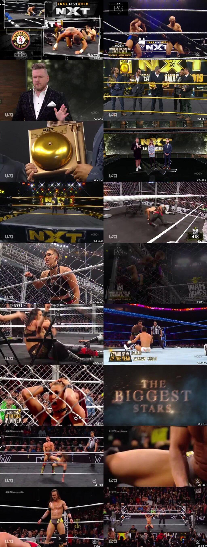 Screen Shot Of WWE NXT 1st January 2020 HDTV 480P 300MB
