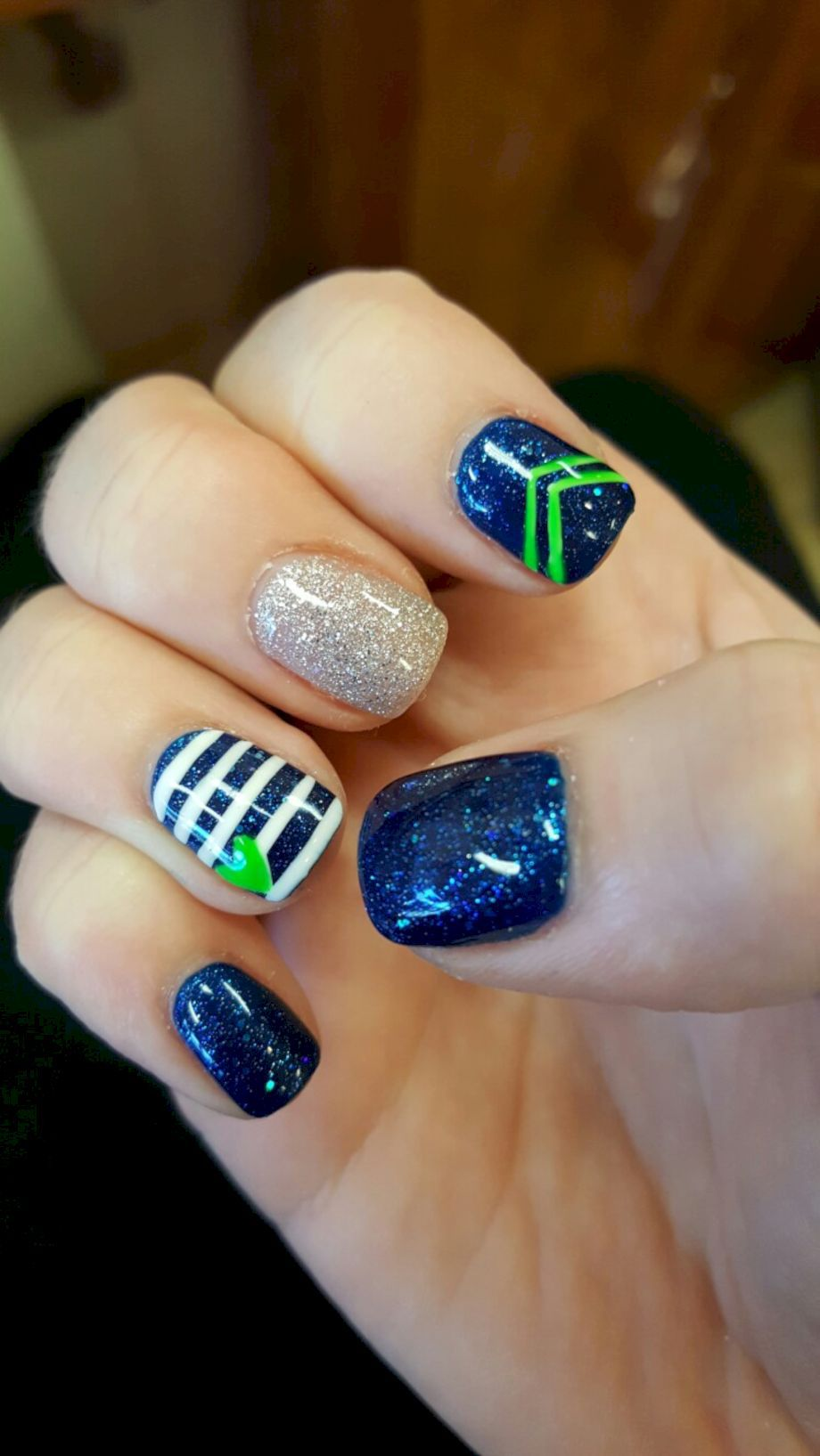 Awesome Seahawks Nails Design Ideas That Must You See Styles Art