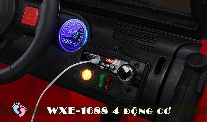 Ô tô điện cho bé WXE-1688 khủng với 4 động cơ 17