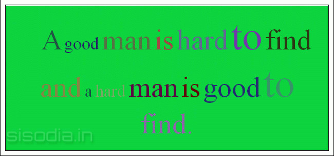 a good man is hard to find text