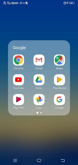 Buka Aplikasi Pada Smartphone anda