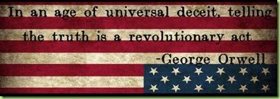 orwell deceit truth revolutionary