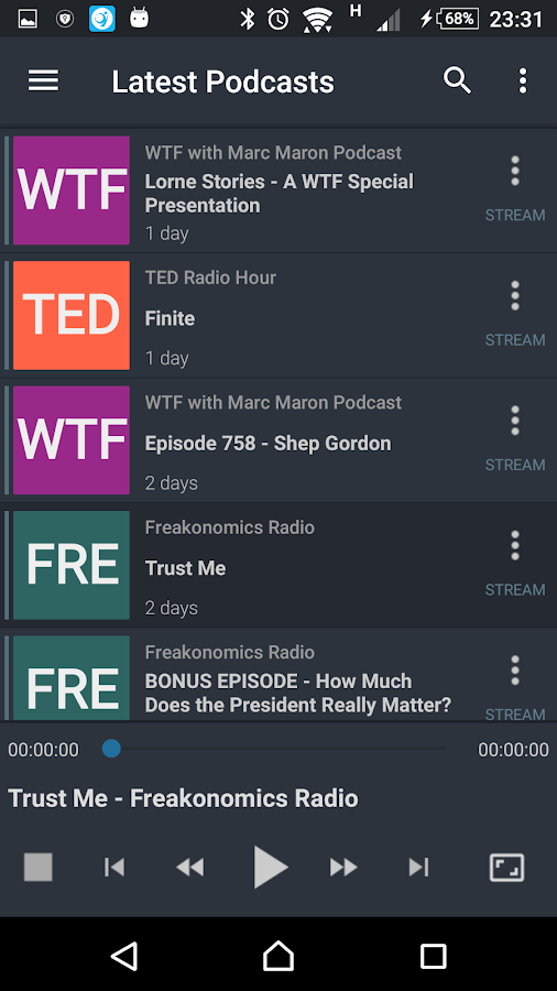 PodStore - Podcast Player- screenshot