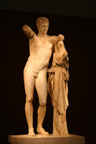 Hermes of Praxiteles, Museum of Olympia