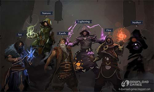 شخصيات وابطال لعبة حرب السحرة Grimoire: Manastorm