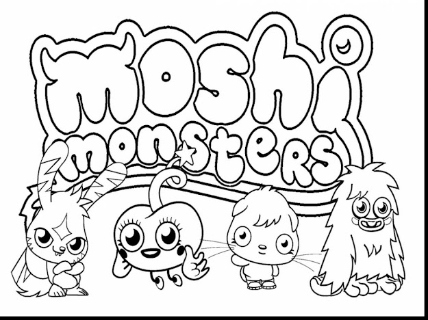 Brilliant Cute Monster Inc Coloring Pages With Monster Inc Coloring Pages
