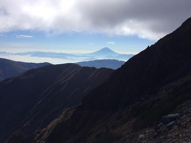 肩の小屋 富士山