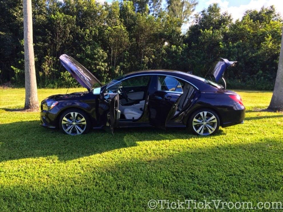 2014 Mercedes-Benz CLA250 Long-Term Test Car - Northern Lights Violet Metellic Long Term Review Road Test 3998 2