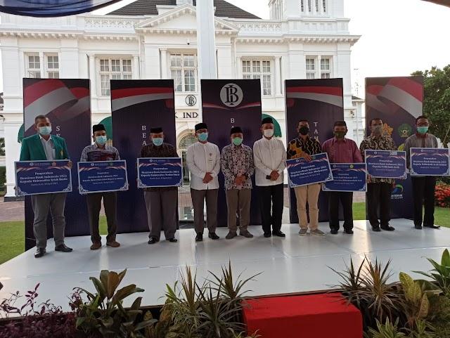 Poltas Terima Beasiswa BI Bersama Kampus Terbaik Se-Aceh