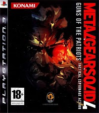 Jaquette du jeu Metal Gear Solid 4 : Guns of the Patriots