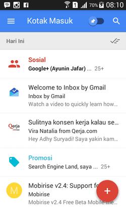 Inbox, Cara Baru Mengelola Pesan Gmail