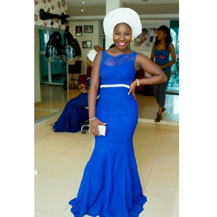My Big Fat Nigerian Wedding Traditional Dresses Intended For African Simple