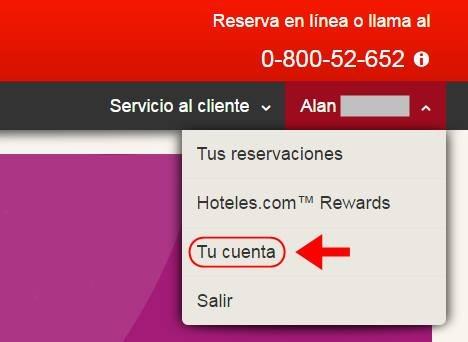 Abrir mi cuenta Hoteles.com - 593