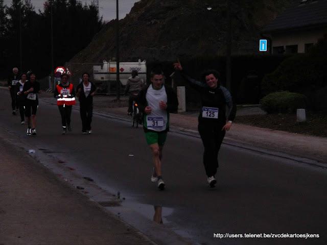 5,5 km Kampenhoutmeer info vind je op http://users.telenet.be/zvcdekartoesjkens/vrouwenvoetbal_loopwedstrijd_Kampenhout_21dec2008.html
