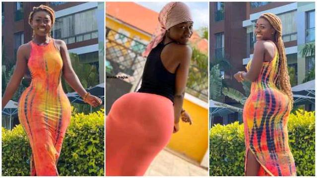 Ghanaian Instagram and TikTok star Hajia Bintu photo