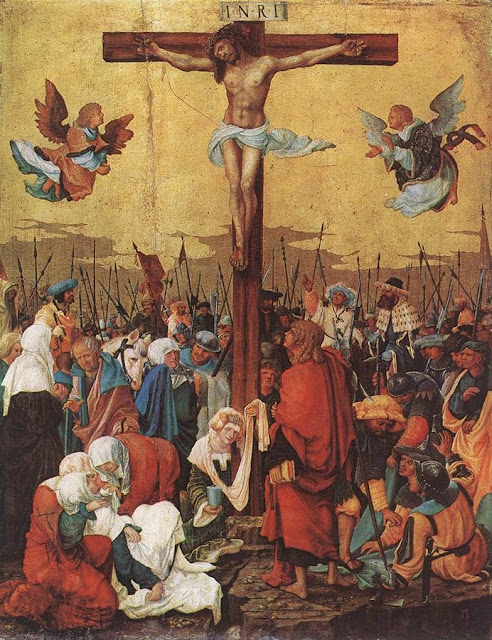 Albrecht Altdorfer - Christ on the Cross