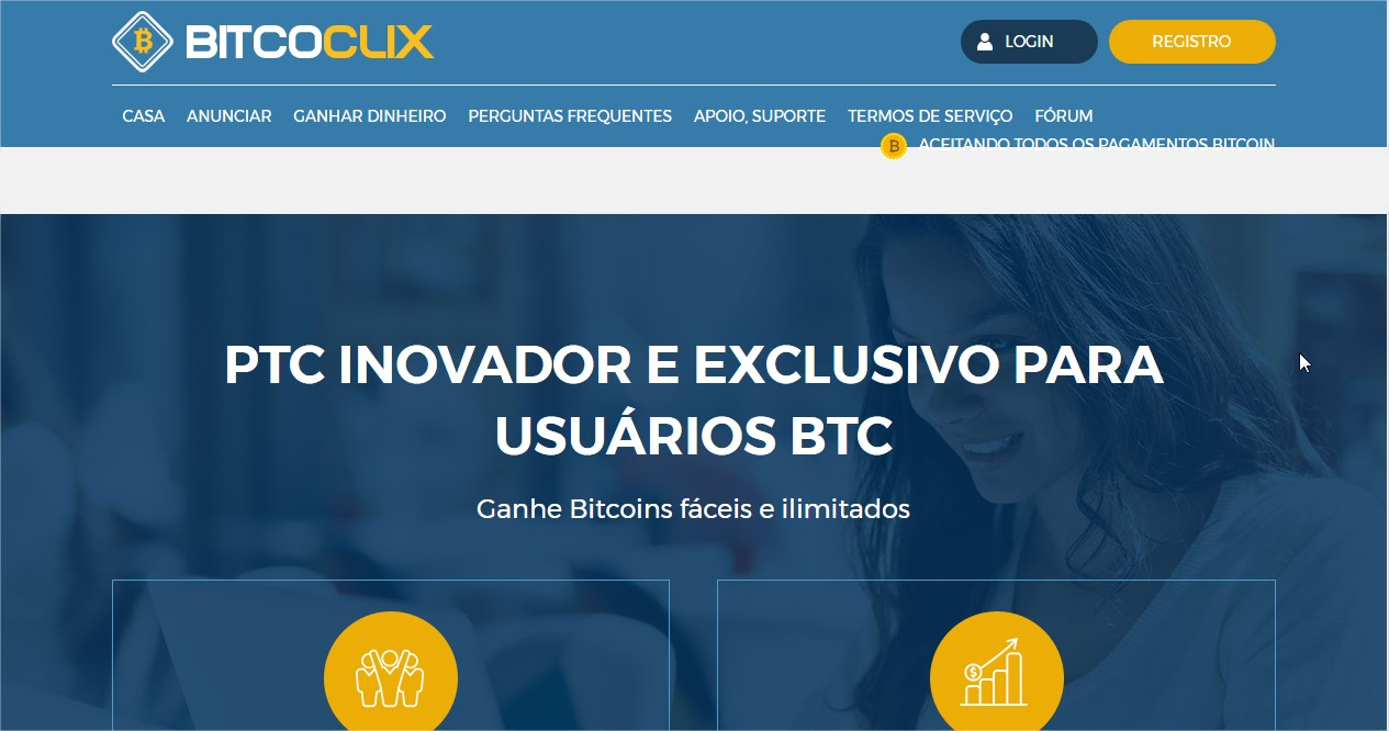 Bitcoclix Find Get Paid For Clicking Ads Payment Bitcoin