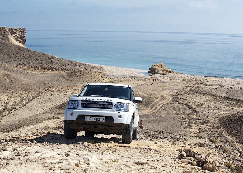Land Rover LR4 took us there and back in complete safety and comfort.