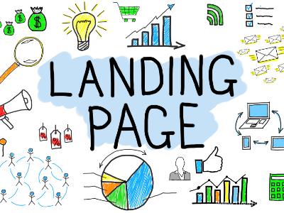 landing page clickbank