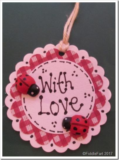 Lovebug Ladybird Gift Tags