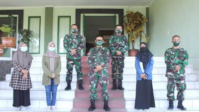 Silaturahmi Pangdam XII/Tpr Dengan LPM Untan
