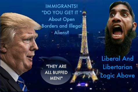 No Visa's Needed From Muslims To Come To U.S. From Europe  Donald%252520Trump%252520Paris%252520France%252520And%252520Muslim%2525201