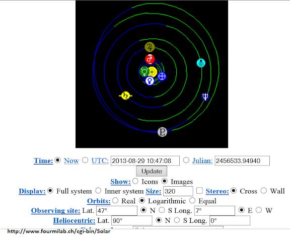 Solar system live