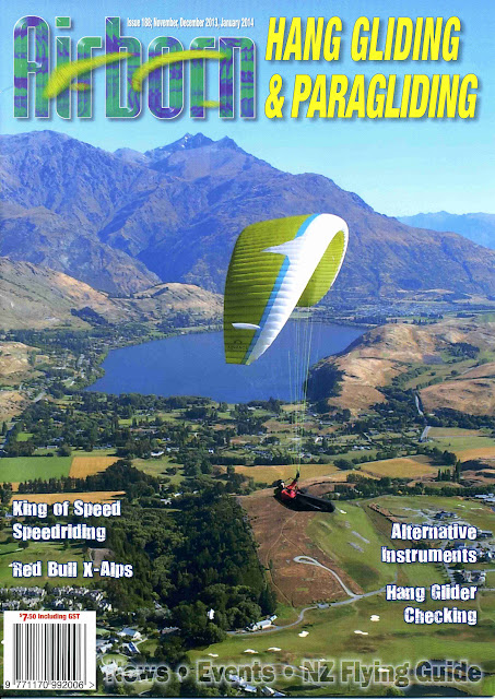 Airborn Magazine - NZ Hang Gliding and Paragliding Association