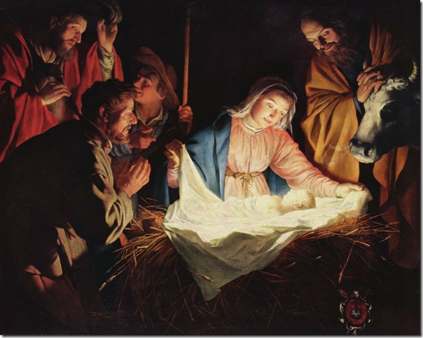 birth of jesus madonna and child