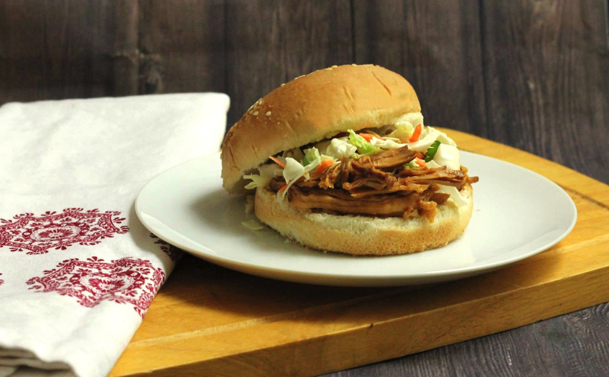 Bourbon and Brown Sugar Pulled Pork BBQ