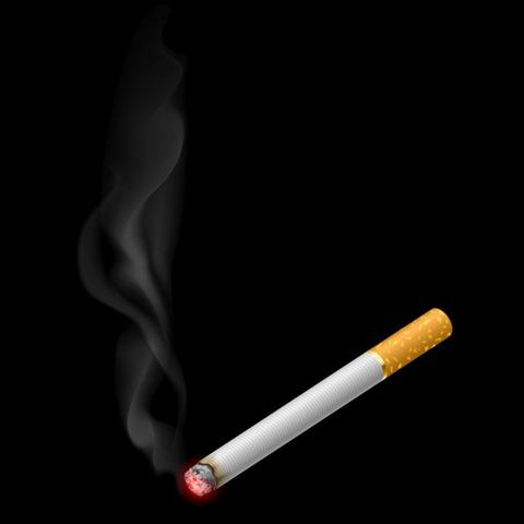 3f59824abb640b1d7e07e686c0c426d8 realistic burning cigarette with smokes thumb%25255B2%25255D - 【コラム】タバコのデメリットは電子タバコで解消することができるのか?リアタバデメリットをまとめてみた。
