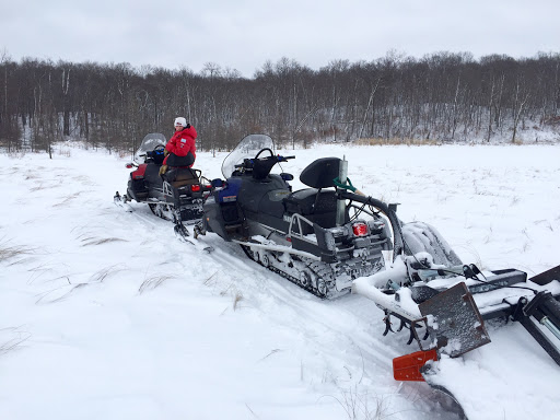 Grooming on Wavy Gravy trail as it passes through Twin Lakes. Plenty of snow now through here.